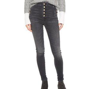 J Brand Natasha Sky-High Skinny Jeans, Sz 26